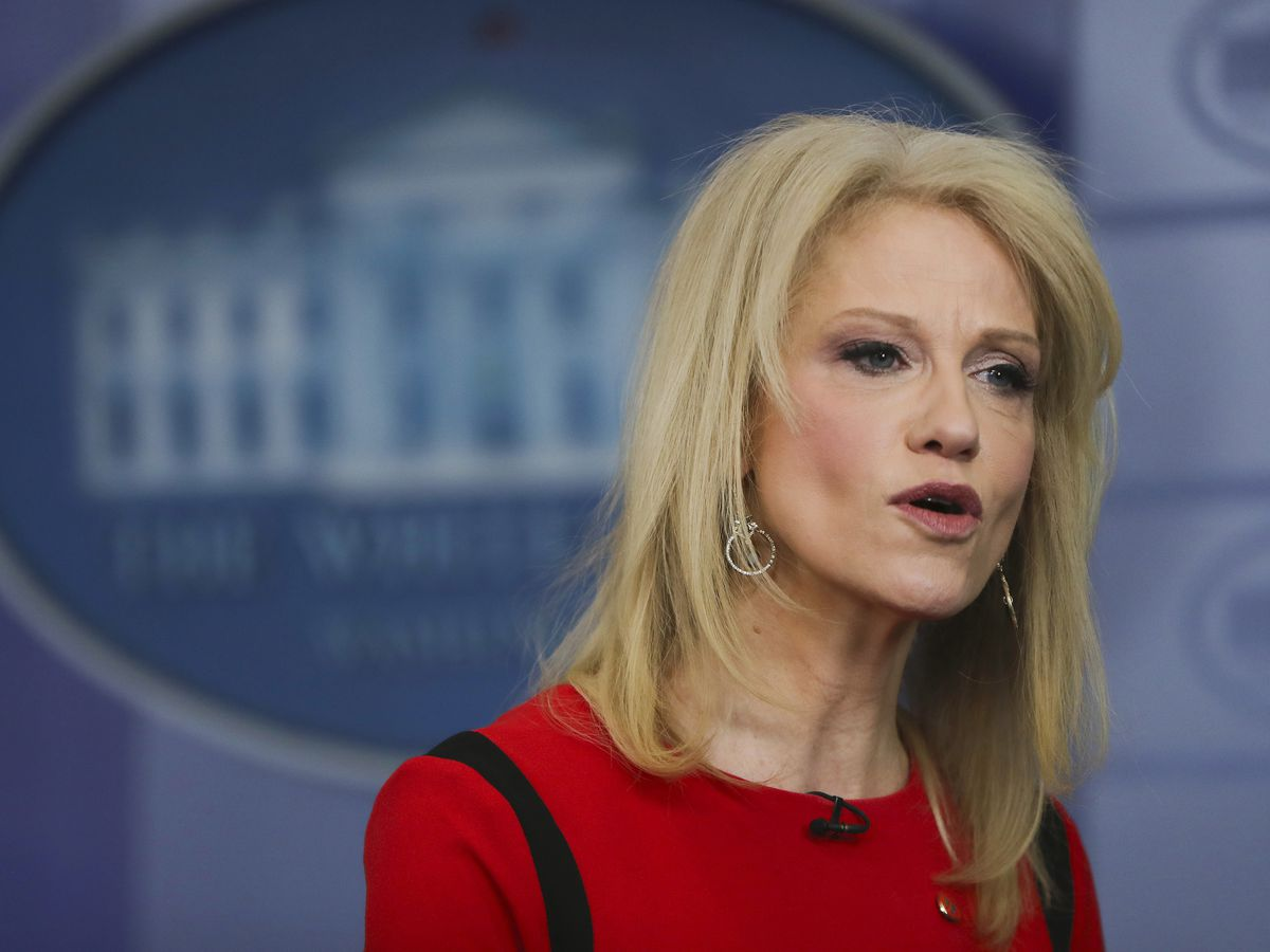 The Latest: Conway says Trump may consider short-term deal