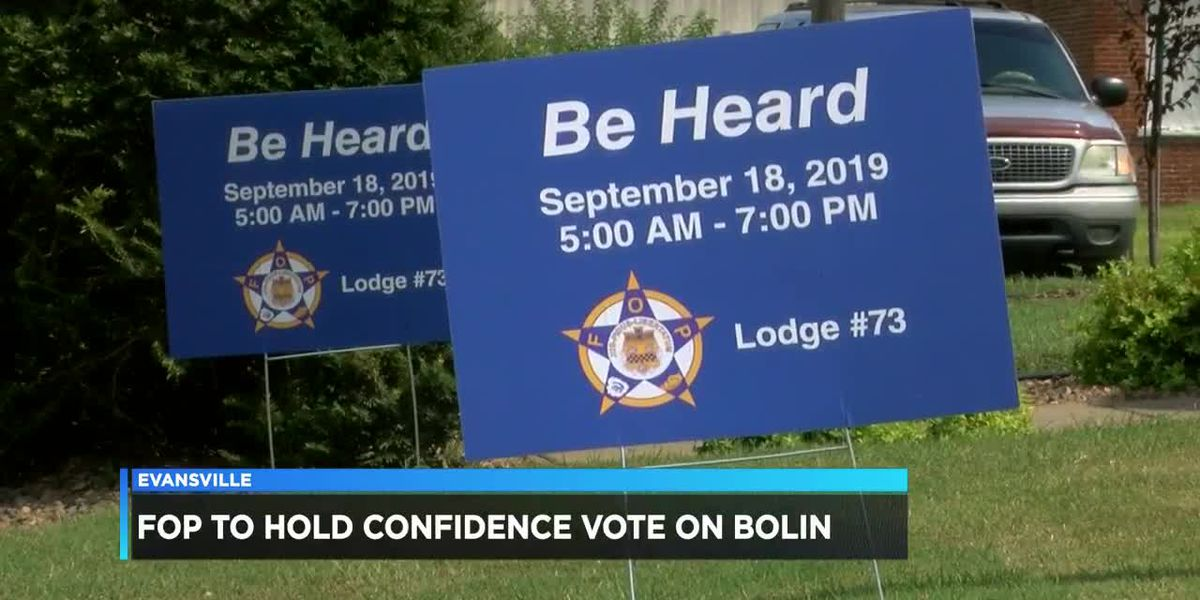 Police Chief Bolin: FOP to vote on confidence in him as chief
