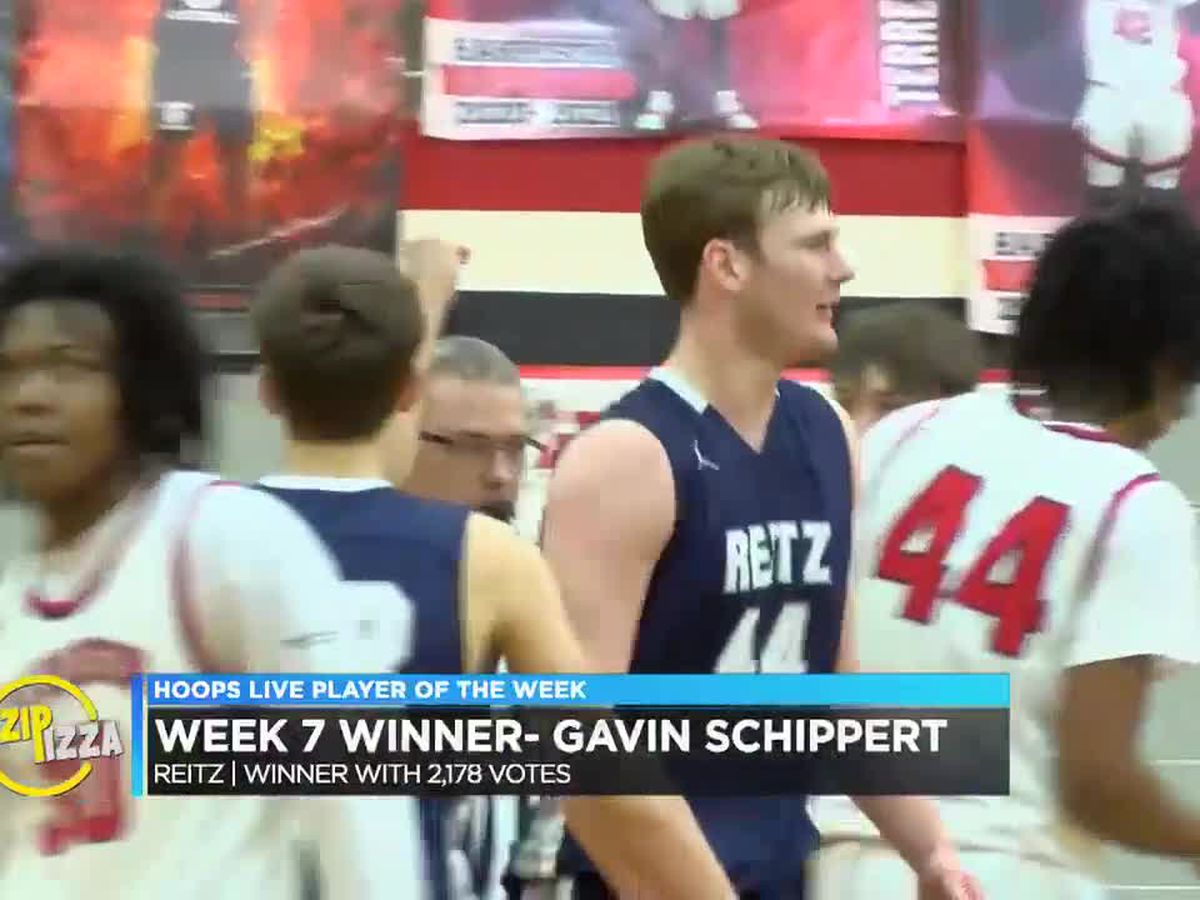 Reitz's Schippert wins POTW recognition in 3rd nomination of the season