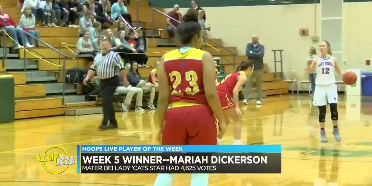 Mater Dei's Dickerson earns POTW honors