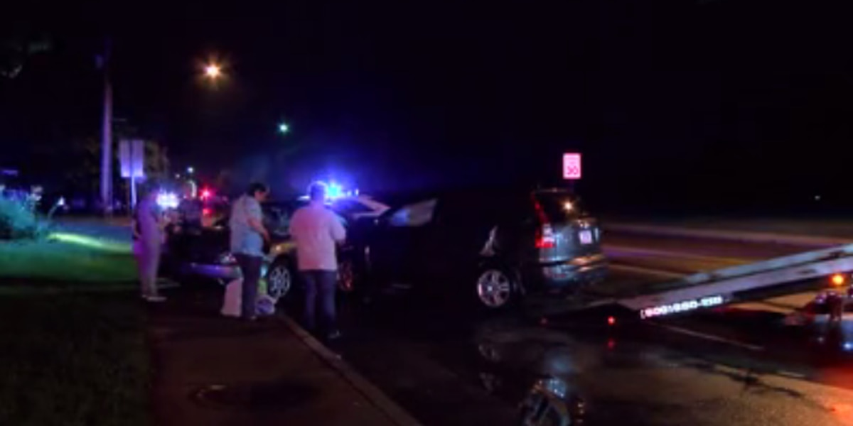 Evansville family recalls Sun. night crash that sent 1 to hospital