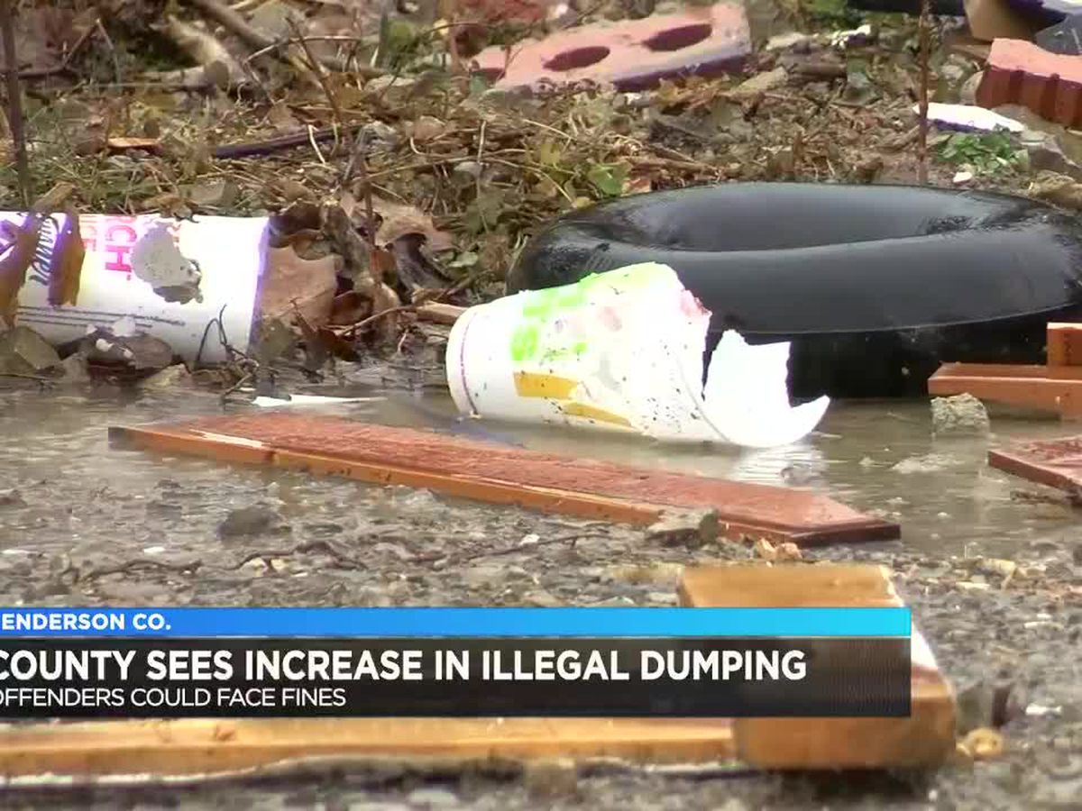 Henderson Co. sees increase in illegal dumping