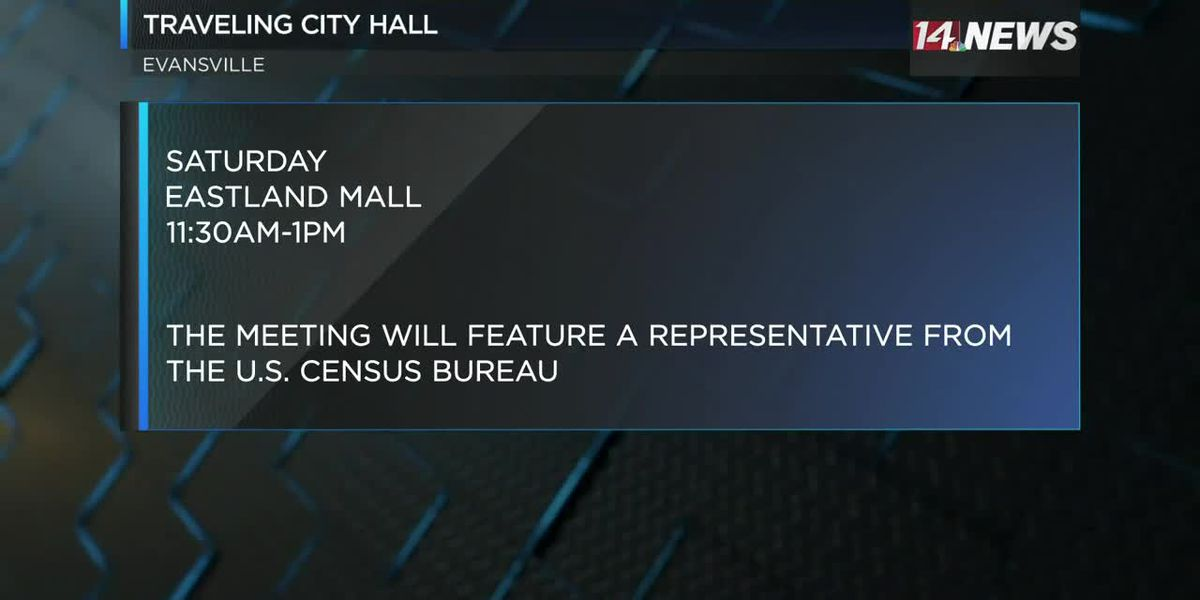 Traveling City Hall heads to Eastland Mall Sat.