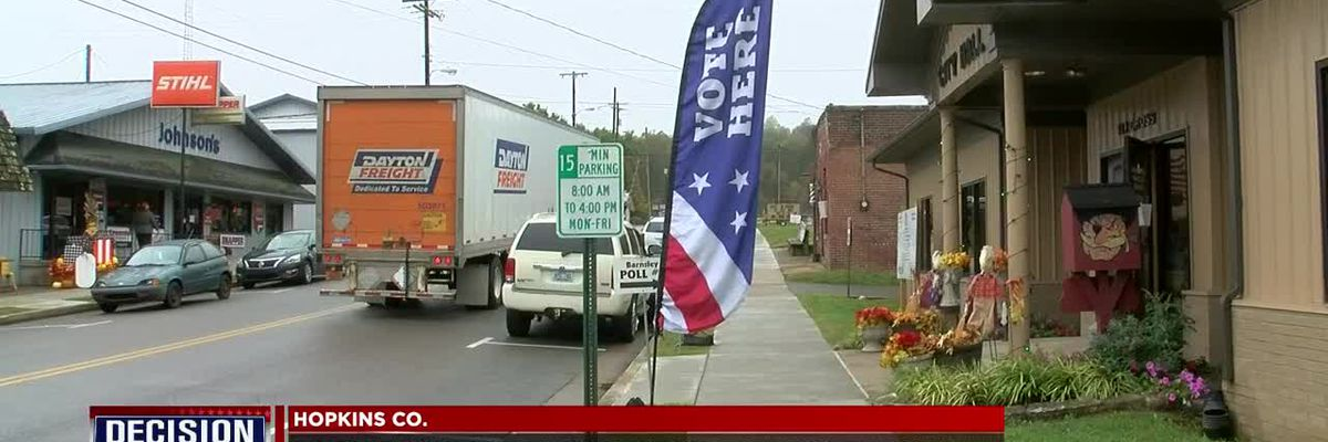Hopkins Co. sees large early in-person voting turn out