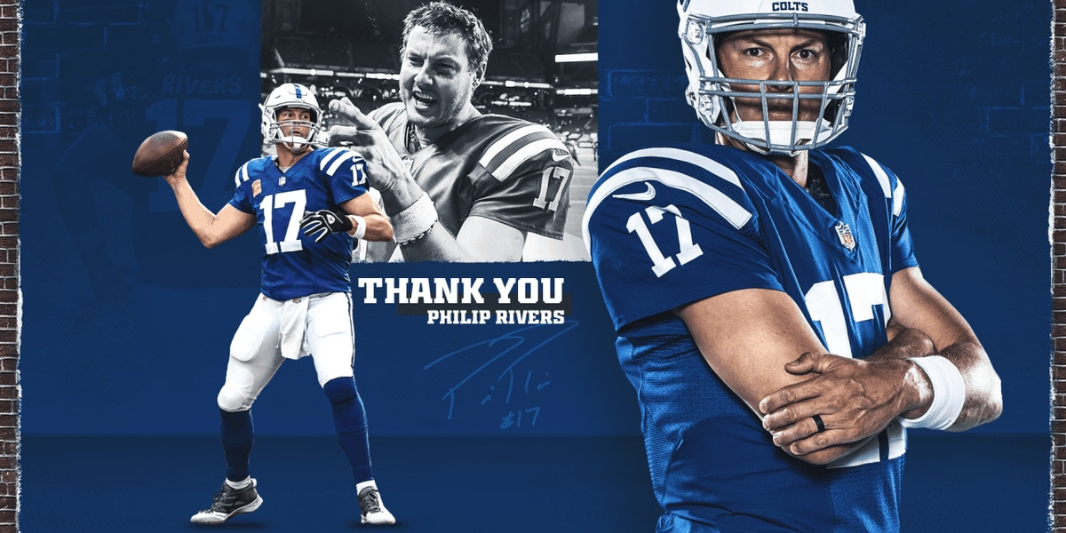 Colts QB Philip Rivers announces retirement, officially ending 17-year NFL career