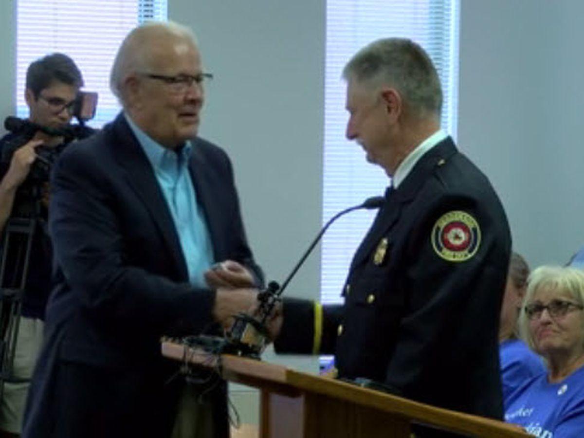 HFD firefighter reaches major department milestone