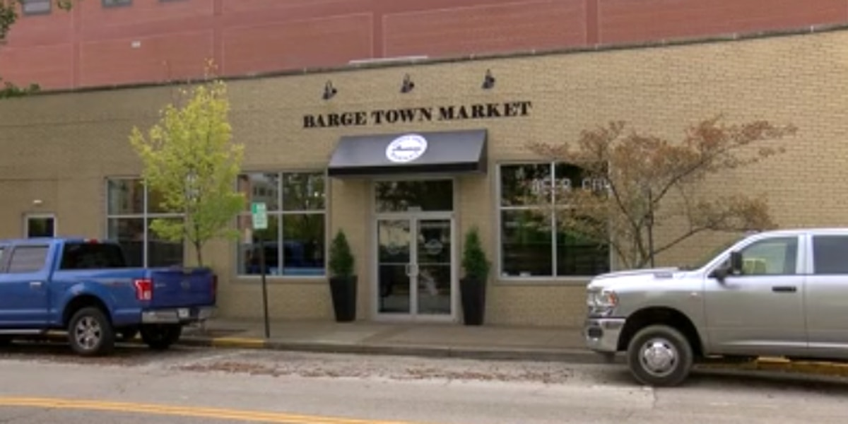 Barge Town Market opens in downtown Evansville