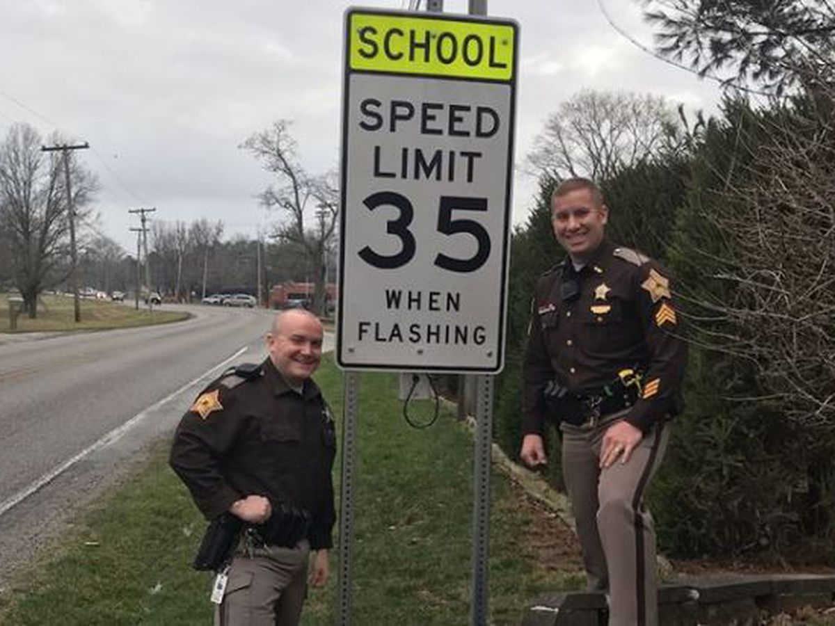New school speed zone put in place at Cynthia Heights