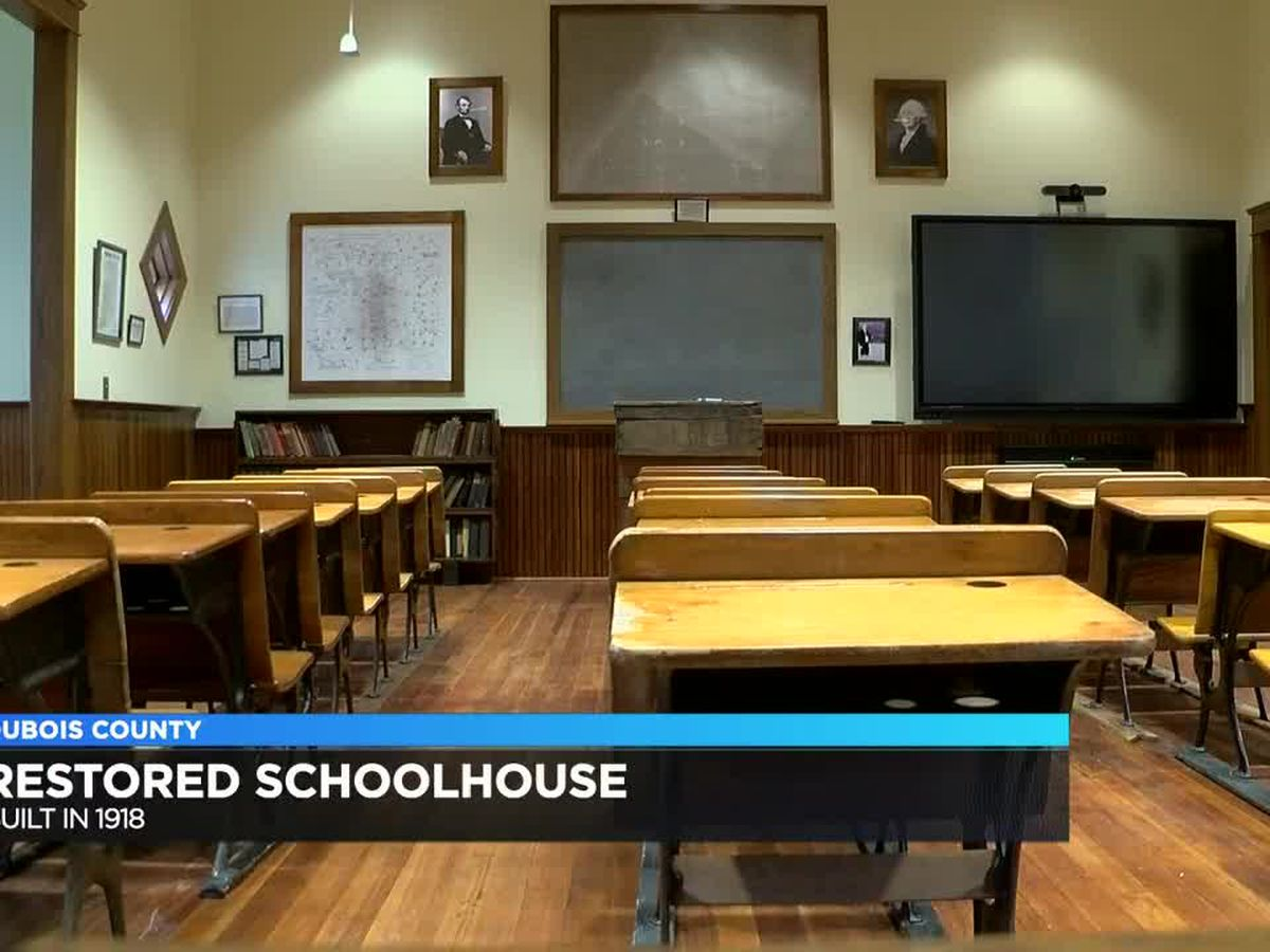 Construction wrapping up on restored schoolhouse in Jasper