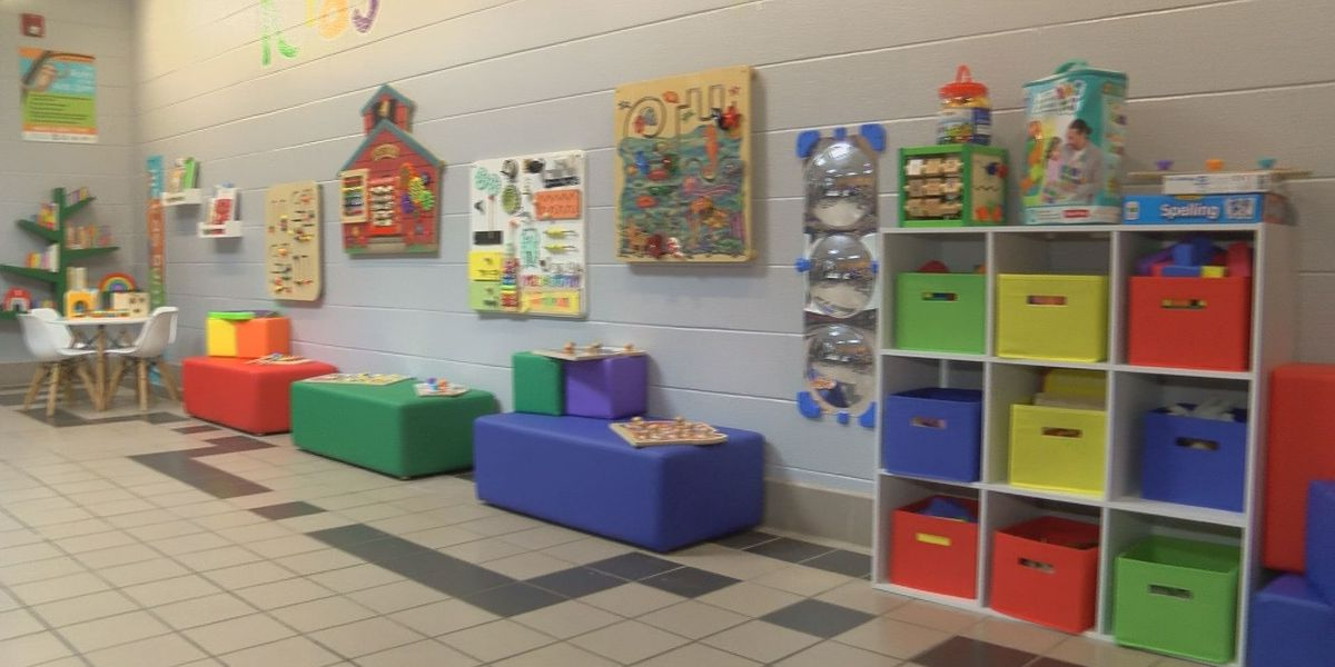 Kid friendly area added to Hopkins Co. jail