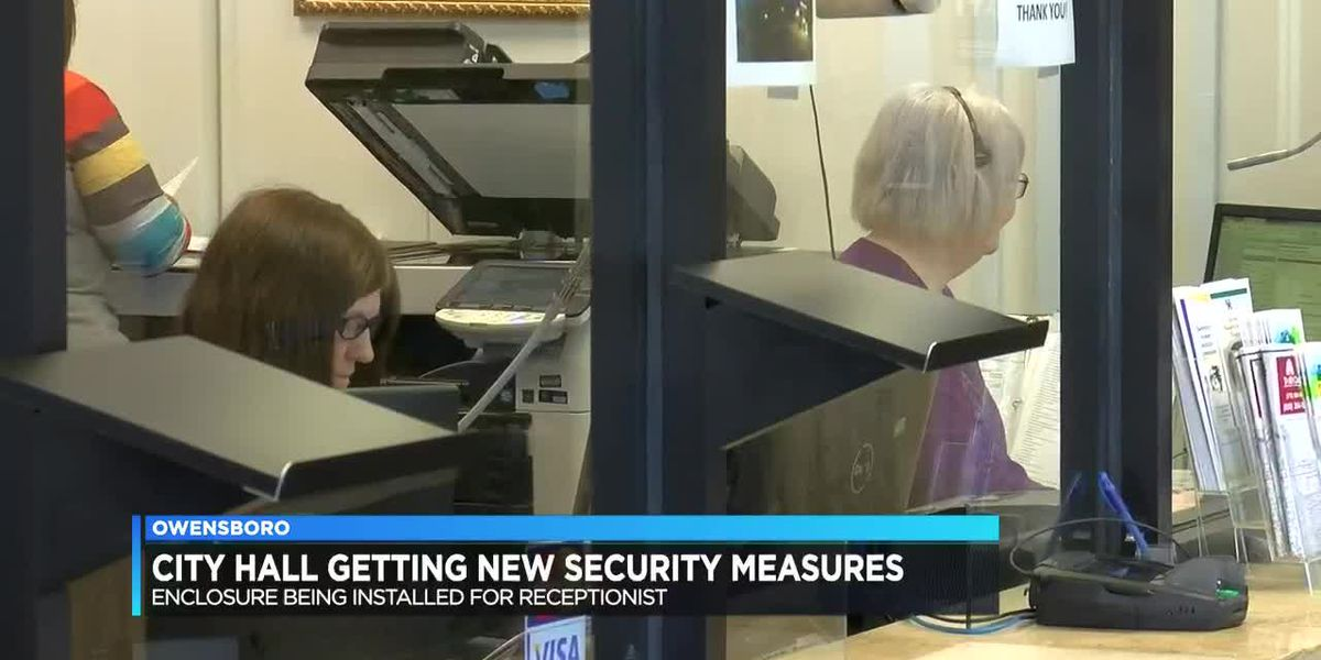 City hall adds security measures to help employees feel safe