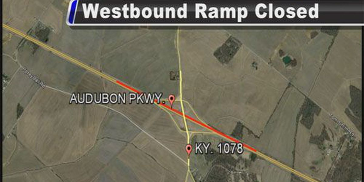 Audubon Parkway ramp to close at Zion Rd. exit