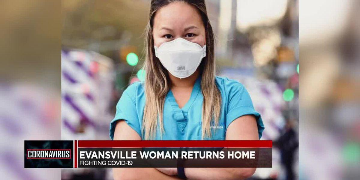 Evansville CRNA returns home after battling COVID-19 in New York