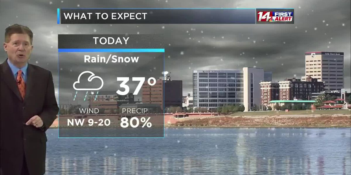Wednesday morning 14 First Alert Forecast