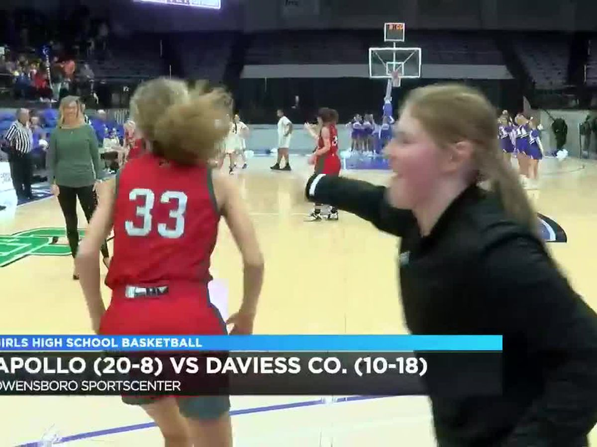 Apollo vs Daviess Co. girls basketball highlights