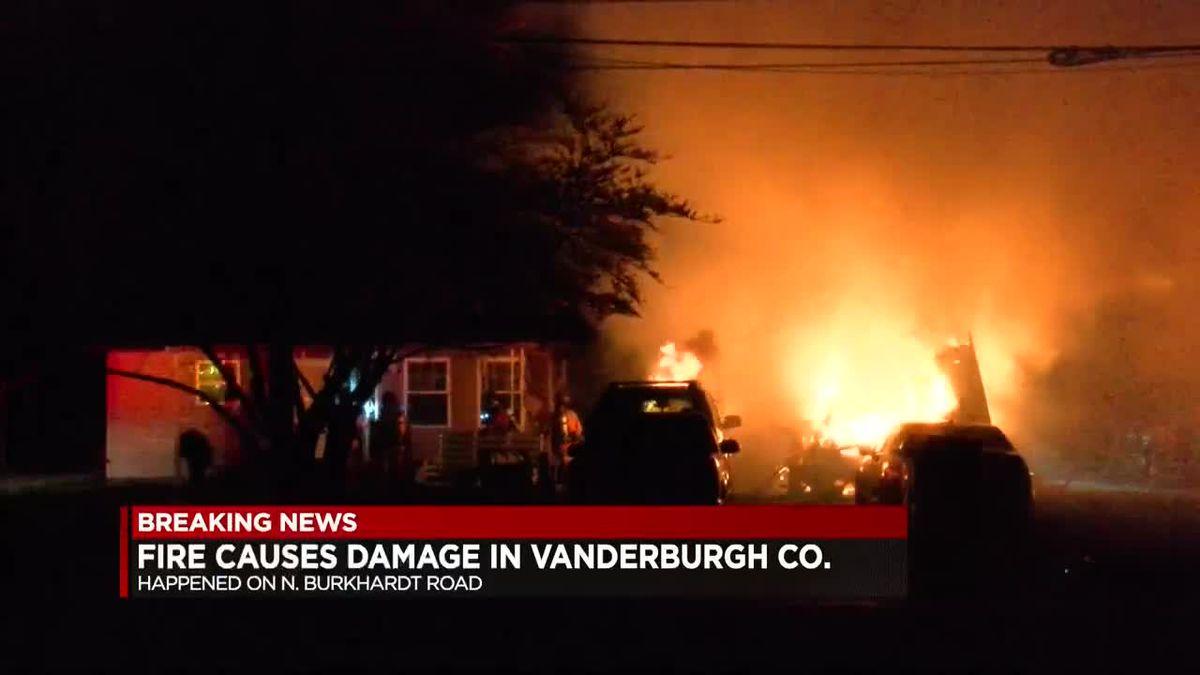 Fire under investigation in Vanderburgh Co.