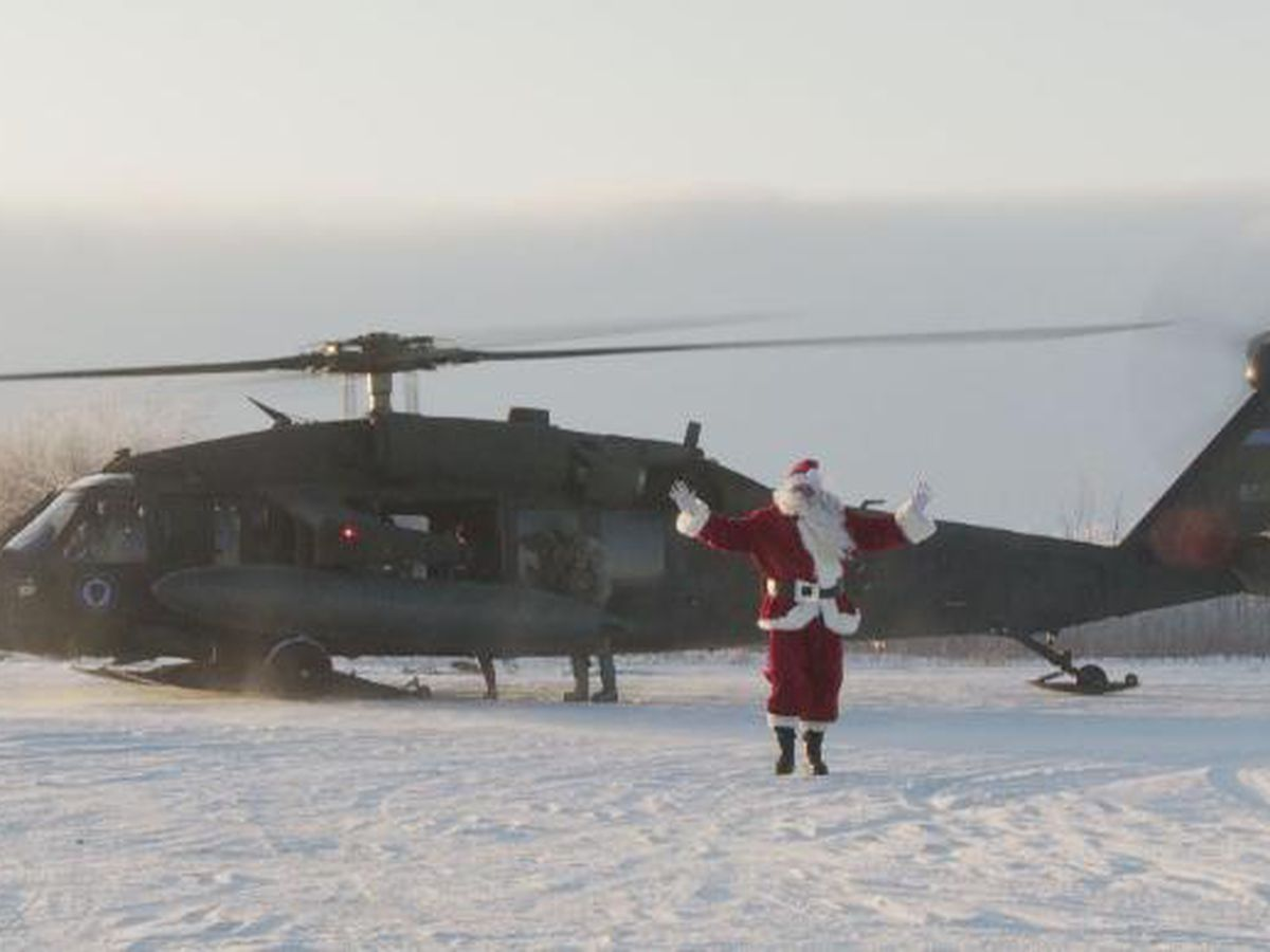 National Guard brings holiday cheer to western Alaska for 63rd annual Operation Santa