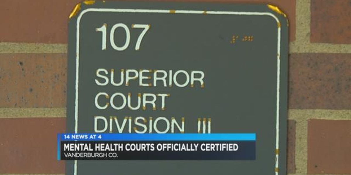 Vanderburgh Co. Mental Health Court officially certified