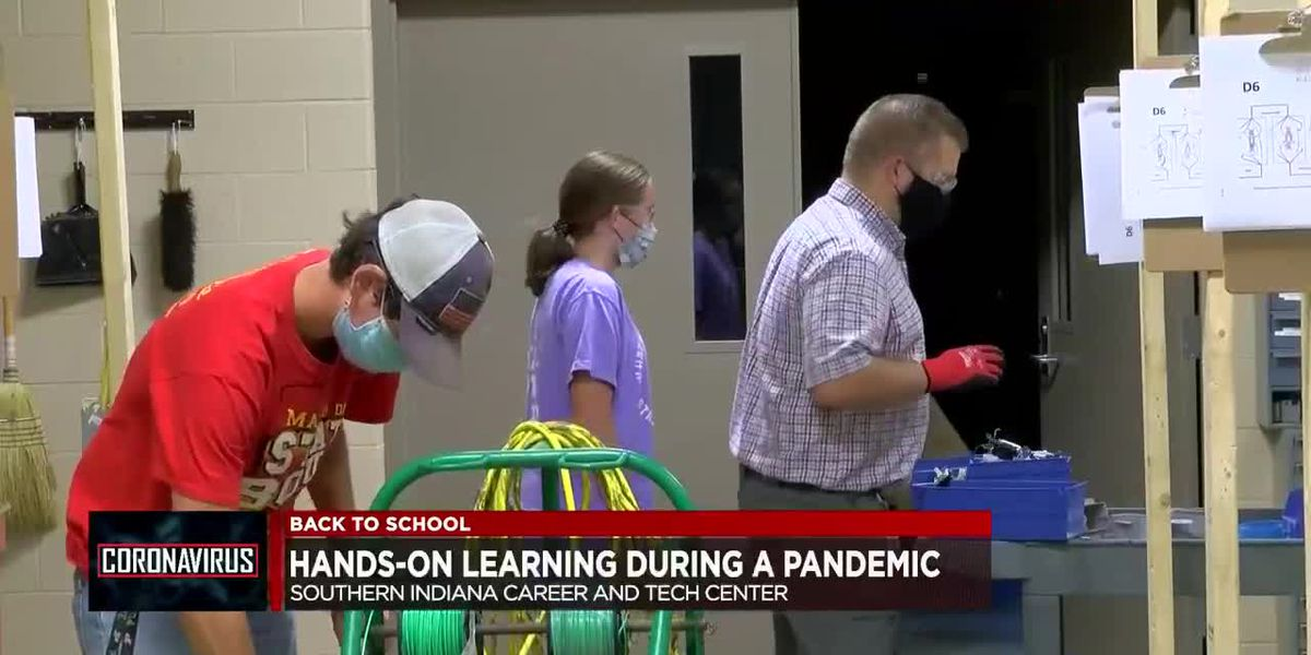 Hands-on learning during a pandemic at Southern Indiana Career and Tech Center