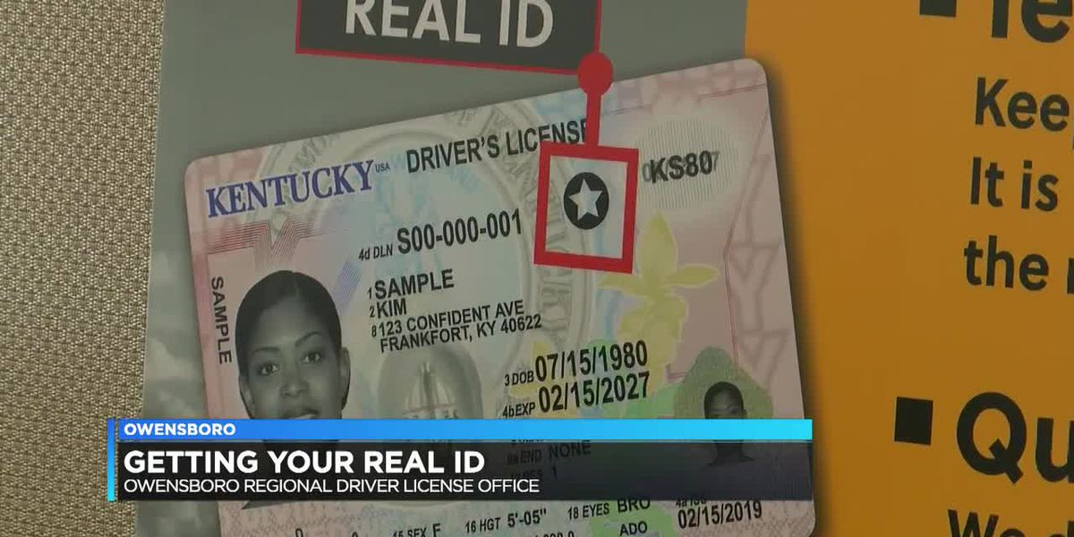 REAL ID reminder: You'll have to update soon