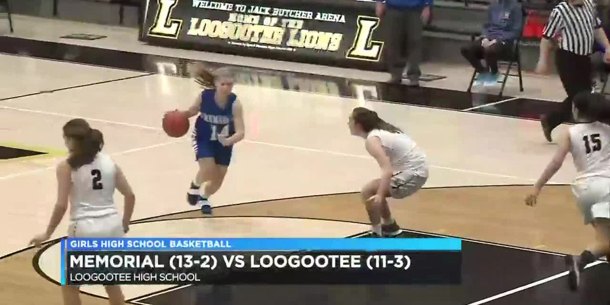 HS Girls Basketball: Memorial vs Loogootee