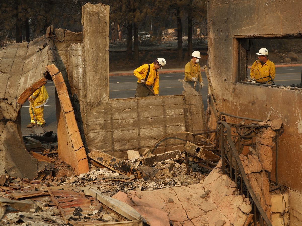 The Latest: Death toll in N California wildfire jumps to 42