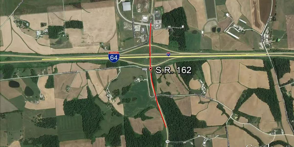 ISP: SR 162 closed at I-64 in Dubois Co. due to accident involving semi, 1 flown to hospital