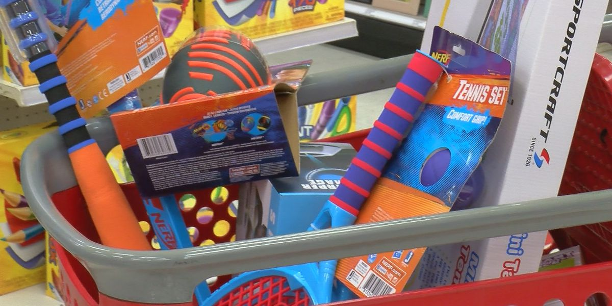Alcoa workers buy toys for Salvation Army Toy Town