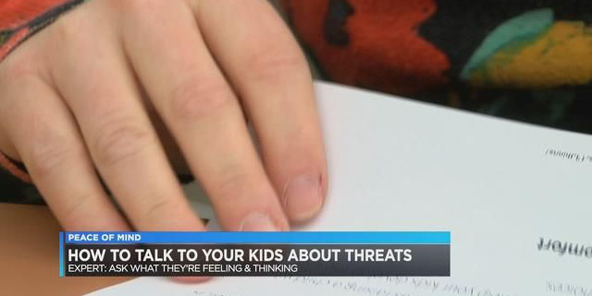 Peace of Mind: How to talk to your kids about threats