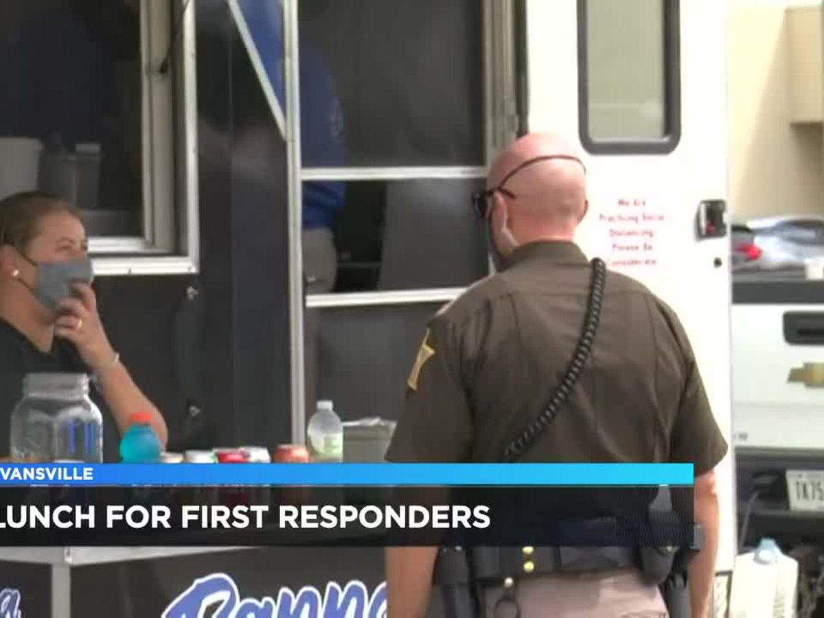 IN senators treat local first responders