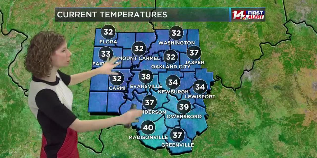 Sunny and mild today, colder and breezy Friday