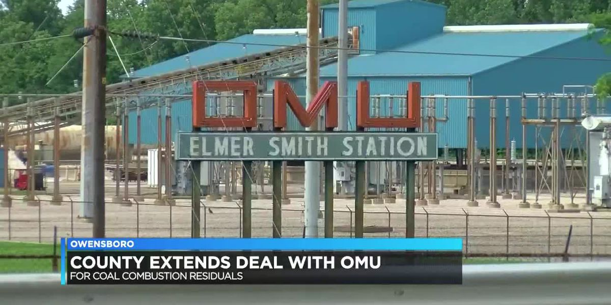Daviess Co. extends deal with OMU for coal combustion residuals