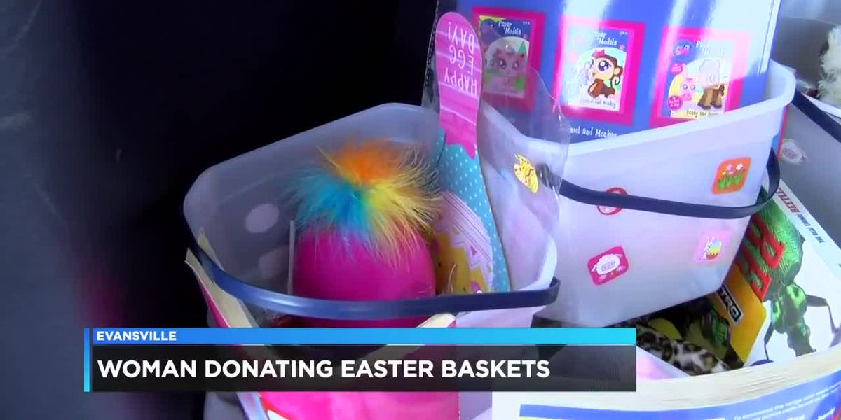 Local woman donates Easter baskets to those in need