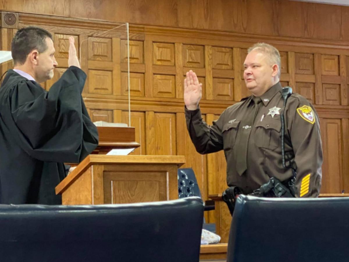 White Co. swore in new sheriff Monday