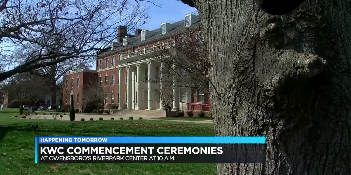 KWC commencement ceremonies happening Sat. in downtown Owensboro