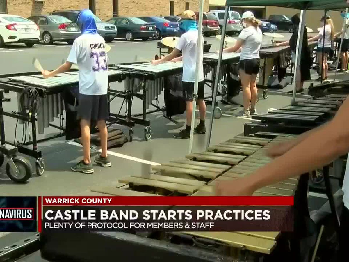 Castle Band starts practice