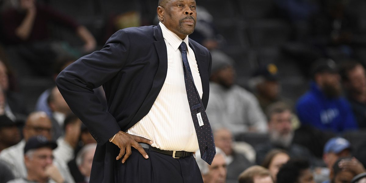 Ex-Hoya, ex-Knick, current Georgetown coach Patrick Ewing has COVID