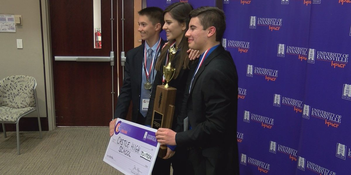 Castle HS students win full-tuition scholarships to UE