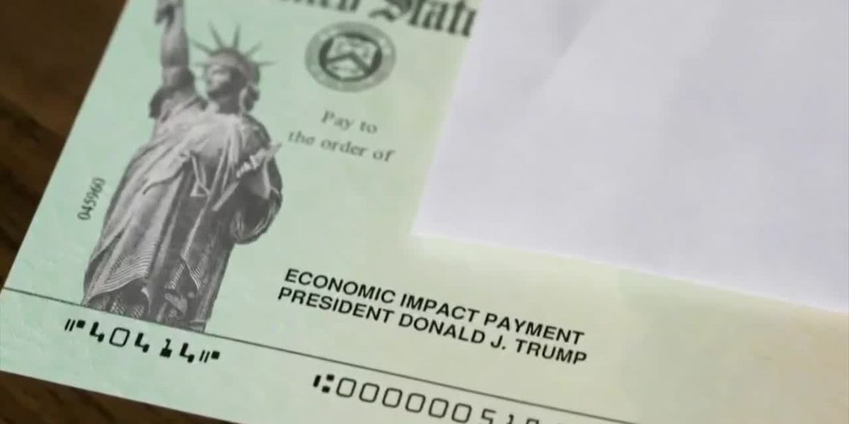 Stimulus checks starting to hit bank accounts