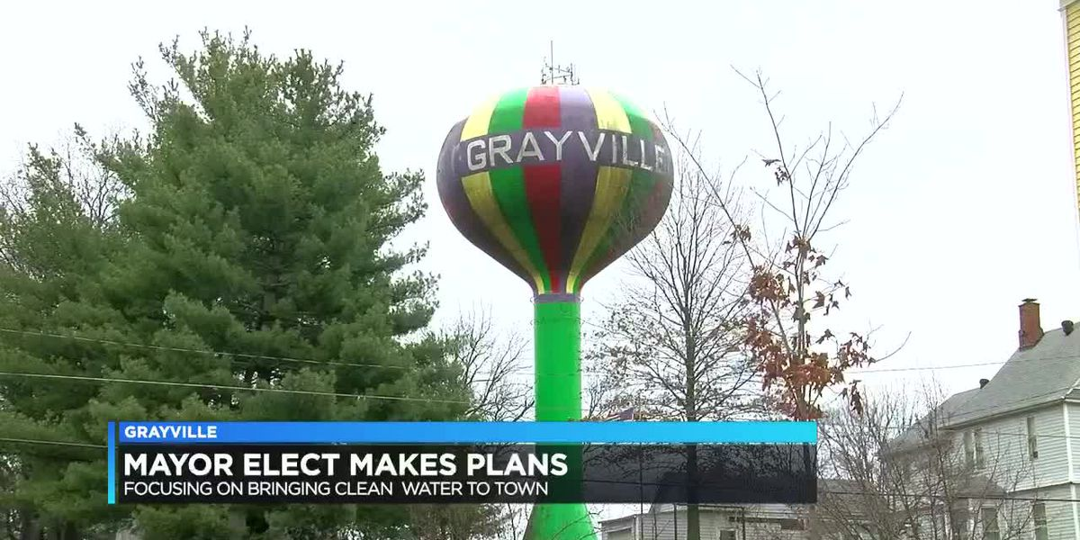 Grayville Mayor-elect has plans ready to fix water issue