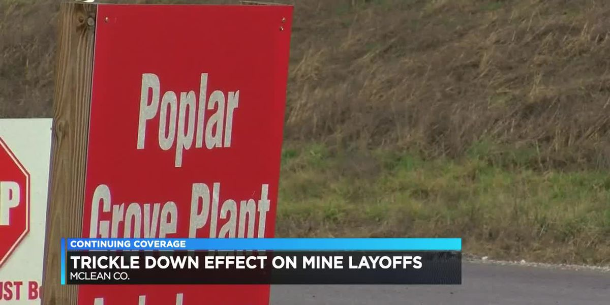 Mine layoffs will have trickle-down effect on local businesses, McLean Co. leadership says