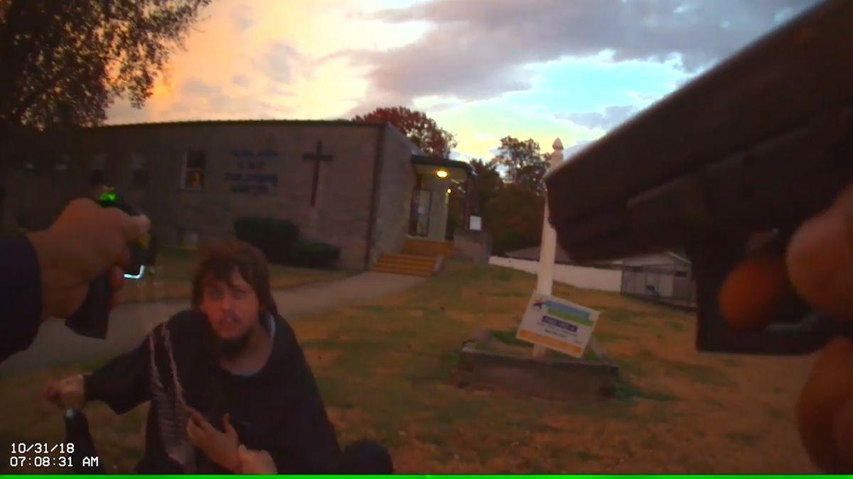 Body cam video released in Fairlawn Elementary arrest