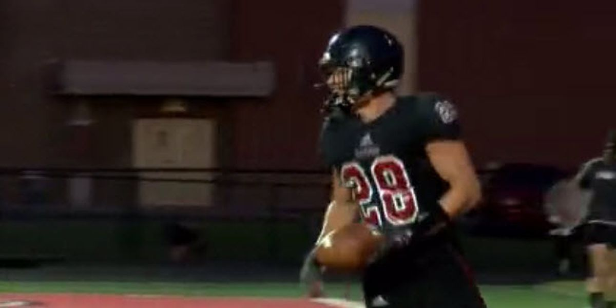 Southridge RB named Azzip Pizza Touchdown Live POTW