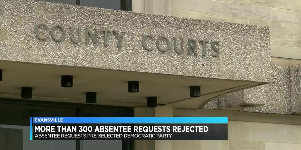 More than 300 absentee applications rejected in Vanderburgh Co.