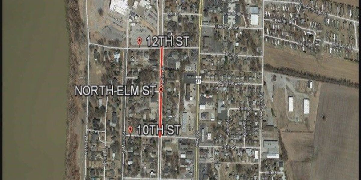 Section of North Elm to close in Henderson for concrete repairs