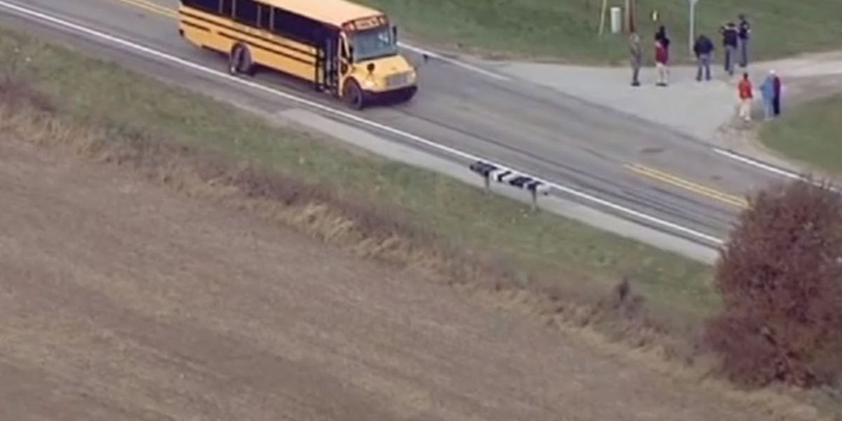 3 siblings fatally struck by vehicle while boarding school bus in Indiana