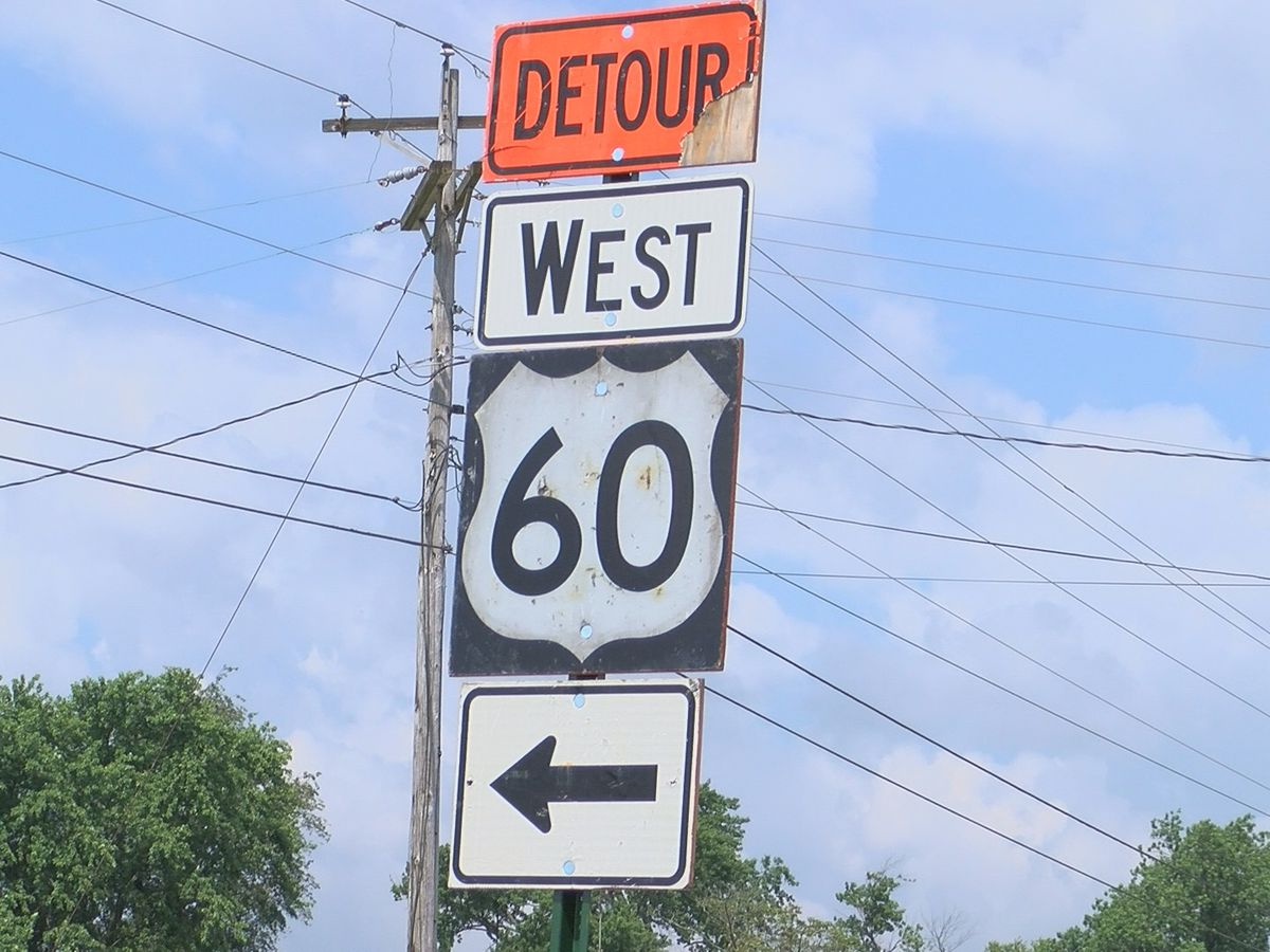 Traffic issues arise with US-60 detour