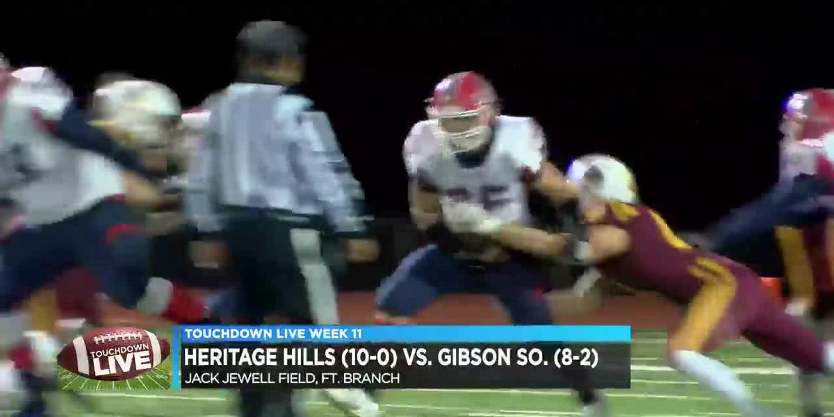 Touchdown Live Sectional Semifinal: Heritage Hills vs Gibson Southern