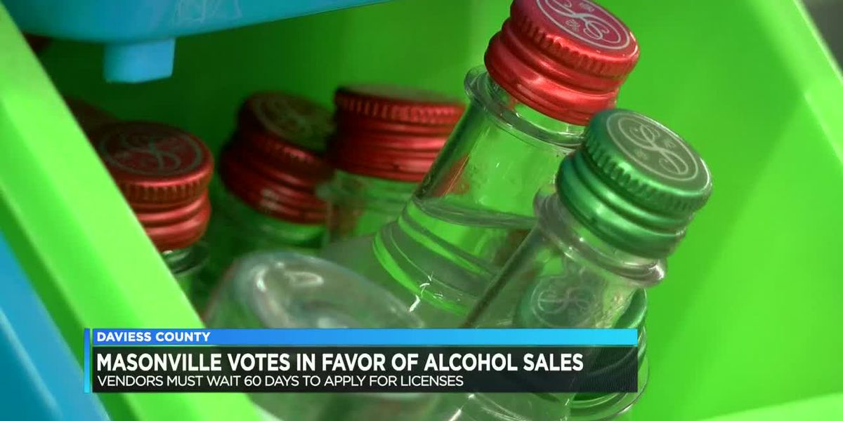 Masonville votes in favor of alcohol sales