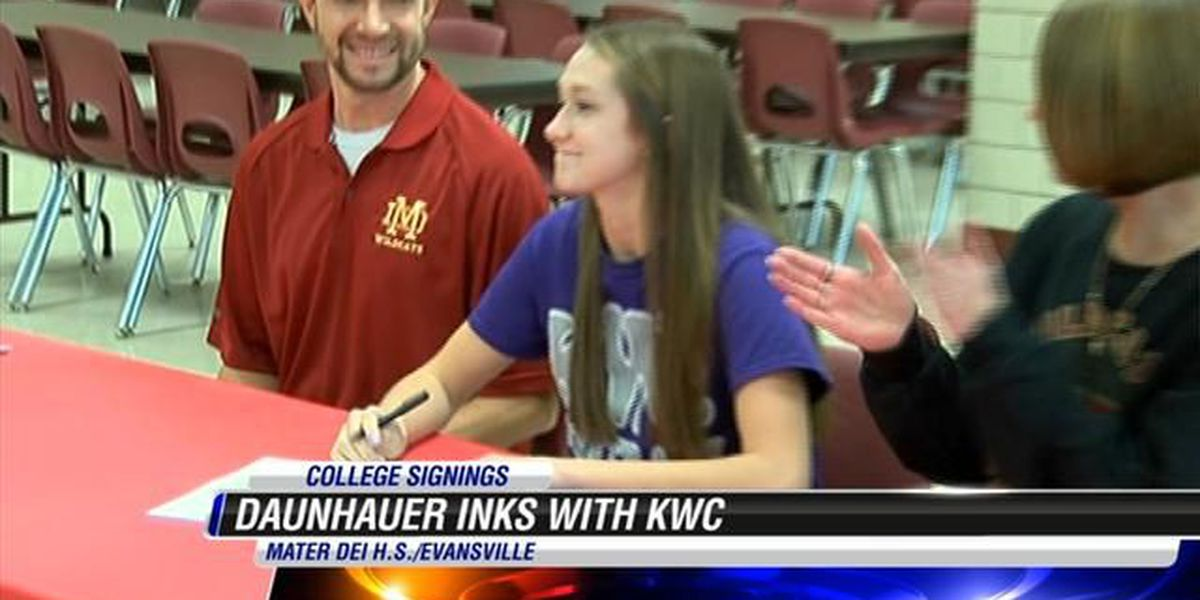 Daunhauer signs with KWC